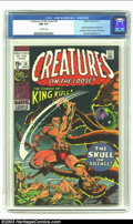 Bronze Age (1970-1979):Horror, Creatures on the Loose #10 (Marvel, 1971) CGC NM 9.4 Off-whitepages. First full appearance of King Kull; first issue; forme...