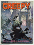 Bronze Age (1970-1979):Horror, Creepy (Magazine) Group (Warren, 1960s). This lot contains twocopies of #27, the first copy is NM 9.4 and the second copy i...(Total: 3 Comic Books Item)