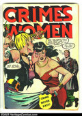 Golden Age (1938-1955):Crime, Crimes by Women #6 (Fox, 1949) Condition: GD. Fantastic catfight & headlight cover. Overstreet 2003 GD 2.0 value = $65....