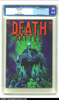 Bronze Age (1970-1979):Horror, Death Rattle #1 (Kitchen Sink, 1972) CGC VF+ 8.5 Off-white pages.Corben cover and art. Not listed in Overstreet. From the...