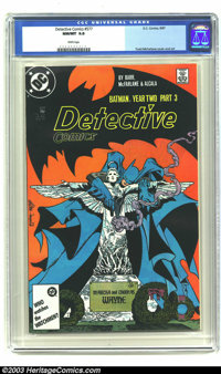 Detective Comics #577 (DC, 1987) CGC NM/MT 9.8 White pages. Todd McFarlane cover and art. Overstreet 2003 NM 9.4 value =...