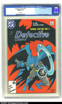 Detective Comics #578 (DC, 1987) CGC NM/MT 9.8 White pages. Todd McFarlane cover and art. Overstreet 2003 NM 9.4 value =...