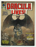 Bronze Age (1970-1979):Horror, Dracula Lives! Group (Marvel, 1970s) Condition: Average VF 8.0.Three issues of Dracula Lives! magazine, issues #1, #2 and #...(Total: 3 Comic Books Item)