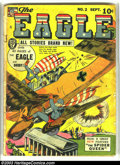Golden Age (1938-1955):Superhero, The Eagle #2 (Fox, 1941) Condition: Apparent GD. Fantastic Wartime cover! Some glue on cover. Origin of the Spider Queen. Ov...