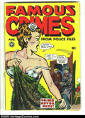Golden Age (1938-1955):Crime, Famous Crimes #2 (Fox Features Syndicate, 1948) Condition: VG. Lingerie cover and panels, plus there is a story about a woma...