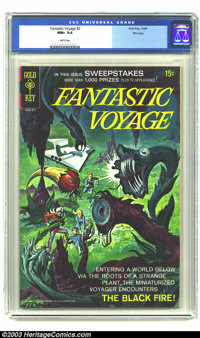 Fantastic Voyage #2 File copy (Gold Key, 1969) CGC NM+ 9.6 White pages. Painted cover. Overstreet 2003 NM 9.4 value = $6...