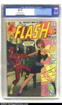 The Flash #203 (DC, 1971) CGC NM- 9.2 Off-white to white pages. Neal Adams cover, Anderson art. Overstreet 2002 NM 9.4 v...