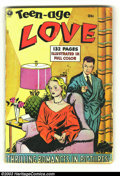 Golden Age (1938-1955):Romance, Fox Giants Teen Age Love (Fox Features Syndicate, 1950) Condition:Apparent GD. Some glue. Overstreet 2003 GD 2.0 value = $3...