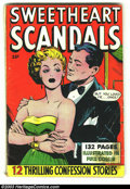 Golden Age (1938-1955):Romance, Fox Giants Sweetheart Scandals (Fox Features Syndicate, 1950)Condition: GD. Overstreet 2003 GD 2.0 value = $39....