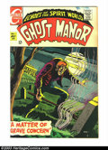 Silver Age (1956-1969):Horror, Ghost Manor #1 (Charlton, 1968) Condition: VF+. Beautiful copy of this first issue. Overstreet 2003 VF 8.0 value = $30....