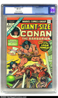 Bronze Age (1970-1979):Miscellaneous, Giant-Size Conan #3 (Marvel, 1975) CGC NM 9.4 Off-white to whitepages. Gil Kane and Tom Sutton art. Overstreet 2002 NM 9.4 ...