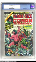 Modern Age (1980-Present):Miscellaneous, Giant-Size Conan #5 (Marvel, 1975) CGC NM 9.4 Off-white pages. Jack Kirby cover. Overstreet 2002 NM 9.4 value = $14....