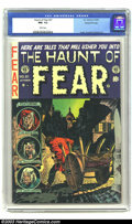 Golden Age (1938-1955):Horror, The Haunt of Fear #21 Gaines File pedigree 1/10 (EC, 1953) CGC NM-9.2 White pages. Ingels, Crandall and Kamen art. Overstre...