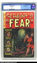 Golden Age (1938-1955):Horror, The Haunt of Fear #22 Gaines File pedigree 1/12 (EC, 1953) CGC NM-9.2 White pages. Davis, Kamen and Evans art. Overstreet 2...