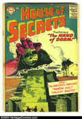Silver Age (1956-1969):Horror, House of Secrets #1 (DC, 1956) Condition: FR/GD. Rarely seen firstissue. Heritage has never before offered a copy of #1 for...