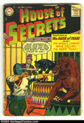 Silver Age (1956-1969):Horror, House of Secrets #2 (DC, 1957) Condition: FR/GD. Second issue withMoreira artwork. Overstreet 2003 GD 2.0 value = $41....