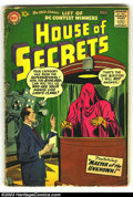 Silver Age (1956-1969):Horror, House of Secrets #4 (DC, 1957) Condition: GD. Jack Kirby art.Overstreet 2003 GD 2.0 value = $29....