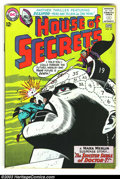 Silver Age (1956-1969):Horror, House of Secrets #65 (DC, 1964) Condition: FN/VF. Eclipso and MarkMerlin. Alex Toth art. Overstreet 2003 FN 6.0 value = $24...