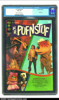 Bronze Age (1970-1979):Miscellaneous, H.R. Pufnstuf #1 (Gold Key, 1970) CGC VF- 7.5 Cream to off-whitepages. Photo cover. Overstreet 2002 VF 8.0 value = $140. ...