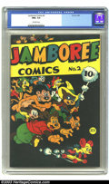 Golden Age (1938-1955):Funny Animal, Jamboree Comics #2 (Round, 1946) CGC NM+ 9.6 Off-white pages. Funnyanimal comics. Overstreet 2003 NM 9.4 value = $150. ...