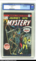 Bronze Age (1970-1979):Horror, Journey into Mystery #16 Stan Lee File Copy (Marvel, 1975) CGC VF-7.5 Off-white pages. Orlando and Torres art. Overstreet 2...