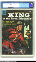 Silver Age (1956-1969):Adventure, King of the Royal Mounted #23 File copy (Dell, 1957) CGC NM 9.4 Off-white pages. Painted cover. Overstreet 2003 NM 9.4 value...