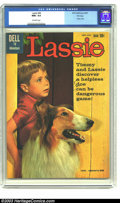 Silver Age (1956-1969):Adventure, Lassie #49 File copy (Dell, 1960) CGC NM+ 9.6 Off-white pages. Photo cover. Overstreet 2003 NM 9.4 value = $42. ...