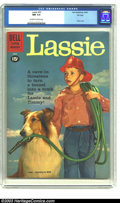 Silver Age (1956-1969):Adventure, Lassie #53 File copy (Dell, 1961) CGC NM 9.4 Off-white to white pages. Photo cover. Overstreet 2003 NM 9.4 value = $38. ...