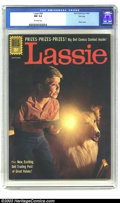 Silver Age (1956-1969):Adventure, Lassie #54 File copy (Dell, 1961) CGC NM 9.4 Off-white pages. Photo cover. Overstreet 2003 NM 9.4 value = $38. ...