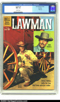 Silver Age (1956-1969):Western, Lawman #5 File copy (Dell, 1960) CGC NM+ 9.6 Off-white pages. Peter Brown and John Russell photo cover; TV western comic. Ov...
