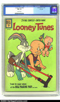 Silver Age (1956-1969):Cartoon Character, Looney Tunes #240 File copy (Dell, 1961) CGC NM 9.4 Off-white pages. Bugs Bunny, Elmer Fudd appearance. Overstreet 2003 NM 9...