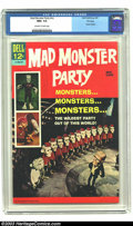Silver Age (1956-1969):Humor, Mad Monster Party #nn File copy (Gold Key, 1967) CGC NM+ 9.6 Off-white to white pages. Movie Classics. Overstreet 2003 NM 9....