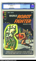 Silver Age (1956-1969):Superhero, Magnus Robot Fighter #9 (Gold Key, 1965) CGC NM 9.4 Off-white to white pages. Painted cover. Overstreet 2003 NM 9.4 value = ...