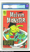 Silver Age (1956-1969):Humor, Melvin Monster #2 (Dell, 1965) CGC NM 9.4 Off-white pages. John Stanley cover and art. Overstreet 2003 NM 9.4 value = $100....