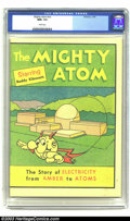 Bronze Age (1970-1979):Miscellaneous, Mighty Atom #1976 version (Whitman, 1976) CGC NM+ 9.6 White pages.Utility company giveaway featuring Reddy Kilowatt. Overst...