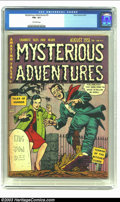 Golden Age (1938-1955):Horror, Mysterious Adventures #3 (Story Comics, 1951) CGC FN+ 6.5 Off-whitepages. Overstreet 2003 FN 6.0 value = $93. From the c...