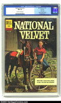 Silver Age (1956-1969):Adventure, National Velvet #nn File copy (Dell, 1962) CGC NM 9.4 Off-white to white pages. Photo cover; indicia says #01-556-207; Jack ...