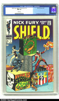 Silver Age (1956-1969):Superhero, Nick Fury, Agent of SHIELD #1 (Marvel, 1968) CGC NM 9.4 White pages. Jim Steranko cover and art. Overstreet 2003 NM 9.4 valu...