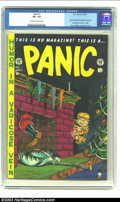 Golden Age (1938-1955):Humor, Panic #1 (EC, 1954) CGC VF+ 8.5 Off-white to white pages. Used in Senate investigation hearings; Elder draws entire E.C. sta...