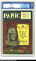 Golden Age (1938-1955):Humor, Panic #3 Gaines File pedigree 11/12 (EC, 1954) CGC NM 9.4 Off-white to white pages. Senate subcommittee parody; Davis draws ...
