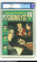 Golden Age (1938-1955):Horror, Psychoanalysis #4 (EC, 1955) CGC VF 8.0 White pages. Jack Kamencover and art. Overstreet 2003 VF 8.0 value = $90. Fromth...