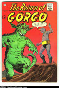 Silver Age (1956-1969):Science Fiction, Return of Gorgo Group of #2 and #3 (Charlton, 1962). #2 is FN+ and #3 is VG. Overstreet 2003 value for group = $40.... (Total: 2 Comic Books Item)