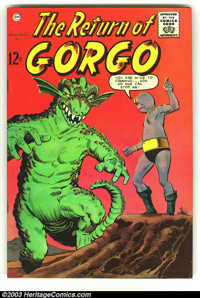Return of Gorgo Group of #2 and #3 (Charlton, 1962). #2 is FN+ and #3 is VG. Overstreet 2003 value for group = $40.... (...