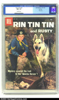 Silver Age (1956-1969):Adventure, Rin Tin Tin #22 File Copy (Dell, 1958) CGC NM+ 9.6 Off-white pages. Photo cover. Overstreet 2003 NM 9.4 value = $55....