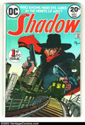 Bronze Age (1970-1979):Miscellaneous, The Shadow Group (DC, early 1970s) Condition: Average VF/NM 9.0.Three issues of the Shadow, issues #1, #2 and #4, all with ...(Total: 3 Comic Books Item)