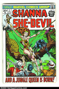 Bronze Age (1970-1979):Miscellaneous, Shanna the She-Devil #1 (Marvel, 1973) Condition: VF/NM 9.0. Thisfirst issue of Shanna the She-Devil features a cover by Ji...
