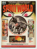 Bronze Age (1970-1979):Horror, Spirit World #1 (Hampshire Distributors, Ltd., 1971) Condition: VF+8.5. The first issue of Spirit World #1, an occult magaz...