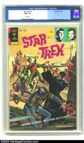 Bronze Age (1970-1979):Science Fiction, Star Trek #16 (Gold Key, 1972) CGC NM+ 9.6 White pages. Alberto Gioletti art. Overstreet 2003 NM 9.4 value = $90. ...