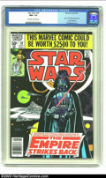 Modern Age (1980-Present):Science Fiction, Star Wars #39 (Marvel, 1980) CGC NM+ 9.6 Off-white to white pages.The Empire Strikes Back adaptation begins with this issue...