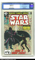 """Modern Age (1980-Present):Science Fiction, Star Wars #44 (Marvel, 1981) CGC NM/MT 9.8 Off-white to whitepages. Part 6 of """"Empire Strikes Back"""" movie adaptation. Al Wi..."""